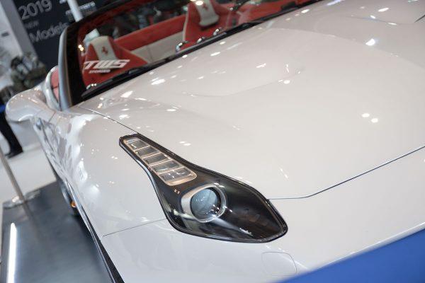 東京オートサロン2019 鍛栄舎 TWS フェラーリ カリフォルニア