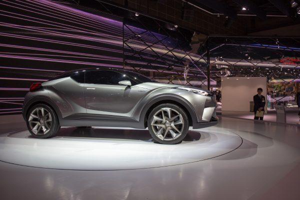 44th東京モーターショー2015 トヨタ C-HRコンセプト