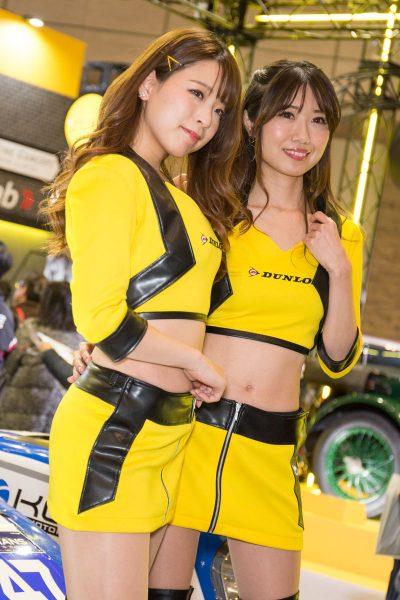 東京オートサロン2019 コンパニオン ダンロップ