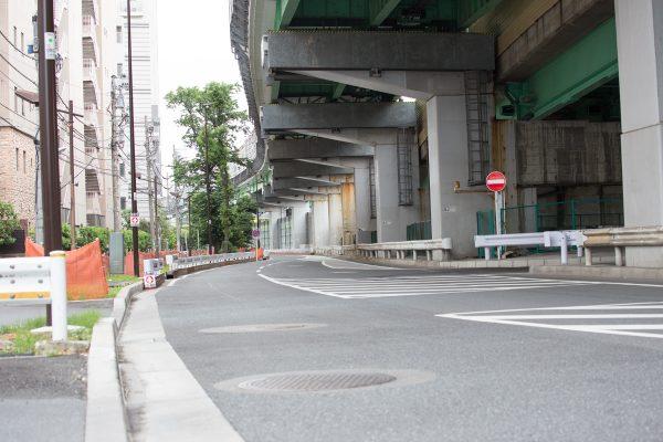 首都高速 高井戸IC 環八 中の橋交差点