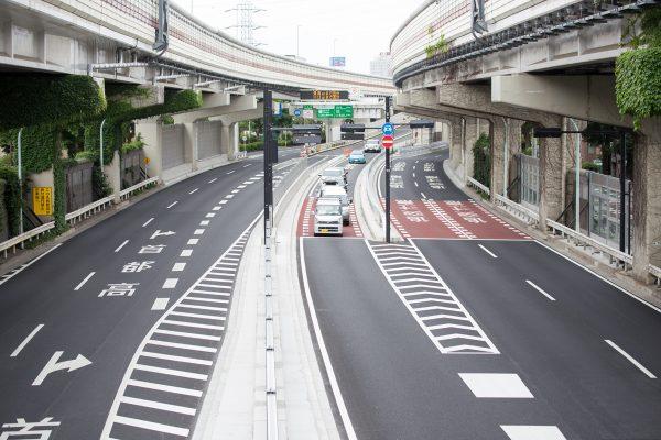 首都高速 高井戸IC 出入り口