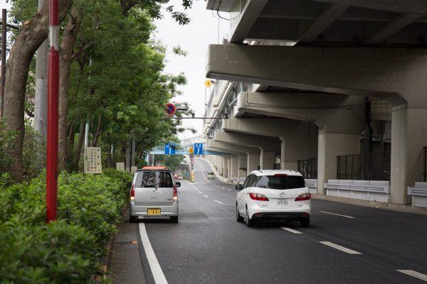 都道14号 放射5号線 高井戸IC 迷惑駐車