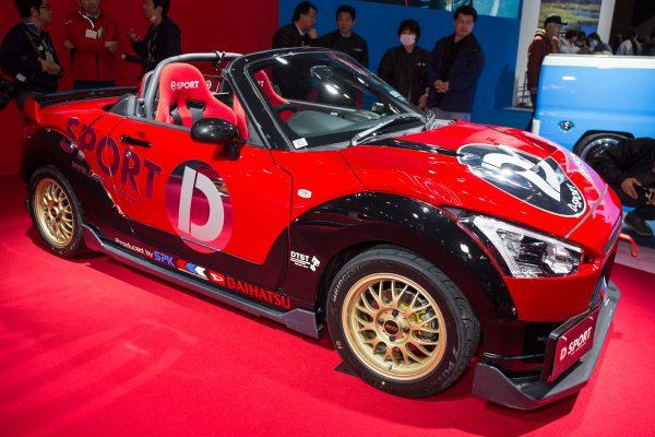 東京オートサロン2018 ダイハツ コペンXPLAY D-SPORT RACING