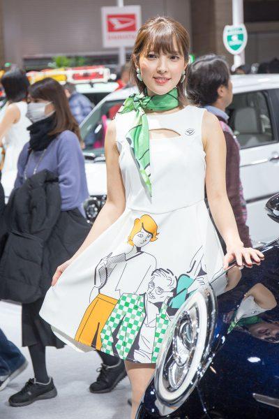 東京オートサロン2019 ダイハツ ブーン コンパニオン