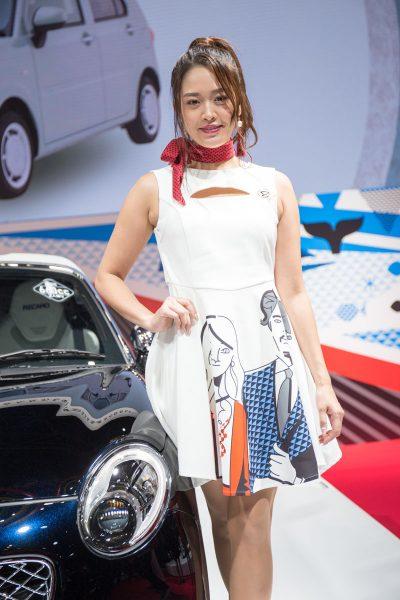 東京オートサロン2019 ダイハツ コペン・セロ・スポーツプレミアム コンパニオン