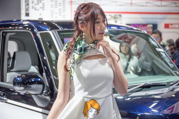 東京オートサロン2019 ダイハツ トール コンパニオン